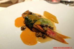 mandarino oriental, milano, ristorante seta, triglia e granciporro