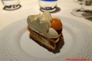 mandarin oriental, milano, ristorante seta, dettaglio torta