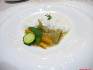aponiente, cadige, Minestra alla pelle di pesce e verdure