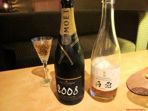 tokyo, ryugin, the e champagne