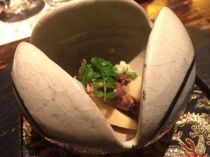 tokyo, ryugin, bambù e calamaretti