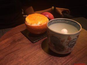 tokyo, ryugin, souffle mandarino