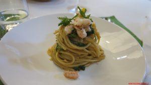 Spaghetti scampi e cimette di senape, Signore te ne ringrazi, Michele Biagiola