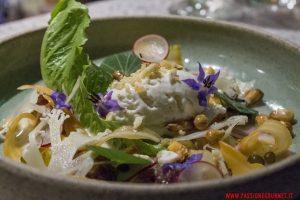 Ceviche di tuberi invernali e gelato al Parmigiano, Astrid&Gaston, Lima.