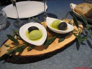 barcellona, disfrutar, olive sferificate