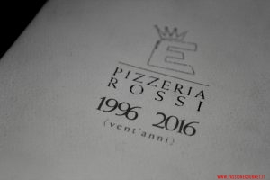 Il menù, Pizzeria Elite, Caserta