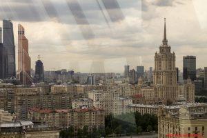 Vista della città, Mosca, White Rabbit, Vladimir Mukhin