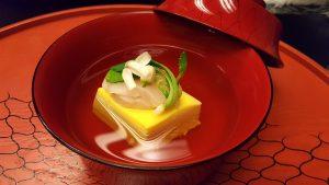 Capasanta, tofu all