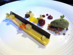 napoli, comandante, dessert frutta e verdura