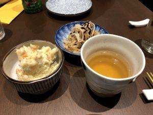 gastronomia yamamoto, milano, giapponese, antipasto