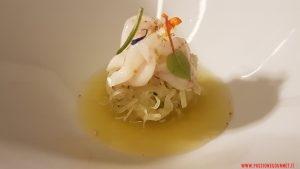 Insalata di anguria, ventresca, agrumi, Angelo Sabatelli, Puglia