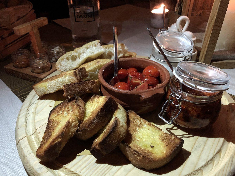 borgo egnazia, savelletri di fasano, la frasca, companatico