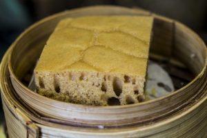 Egg cake, Tim Ho Wan, Dim Sum, Hong Kong, Cina