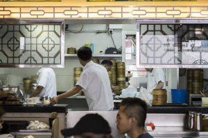 La cucina, Tim Ho Wan, Dim Sum, Hong Kong, Cina