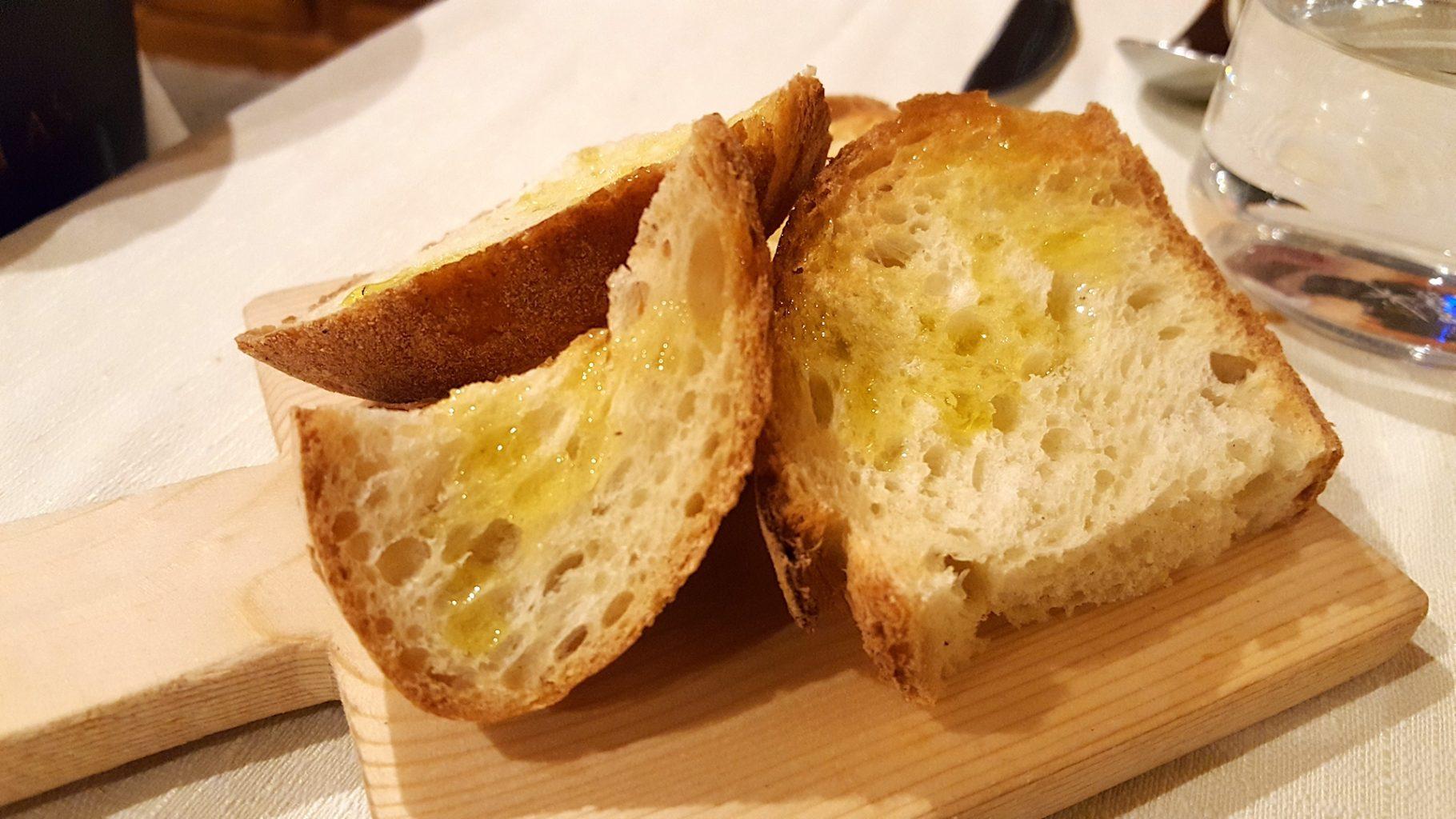 Pane e olio. Su Carduleu. Abbasanta