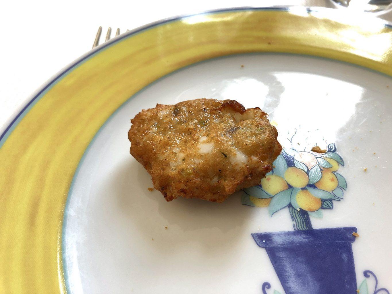 sicilia, scoglitti, sakkalleo, antipasto, polpetta di seppie