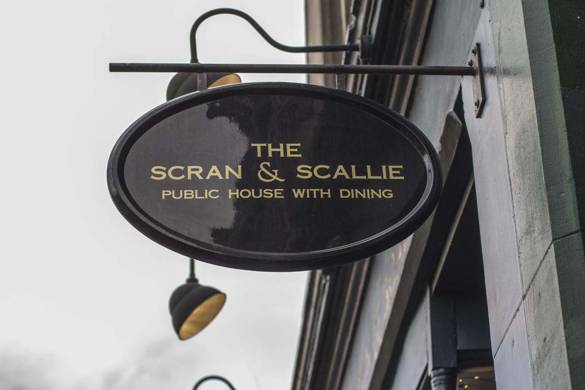 The Scran & Scallie, Tom Kitchin, Edimburgo, Scozia