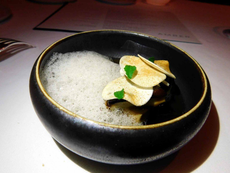 Foie gras, Amber, Mandarin Hotel, Hong Kong