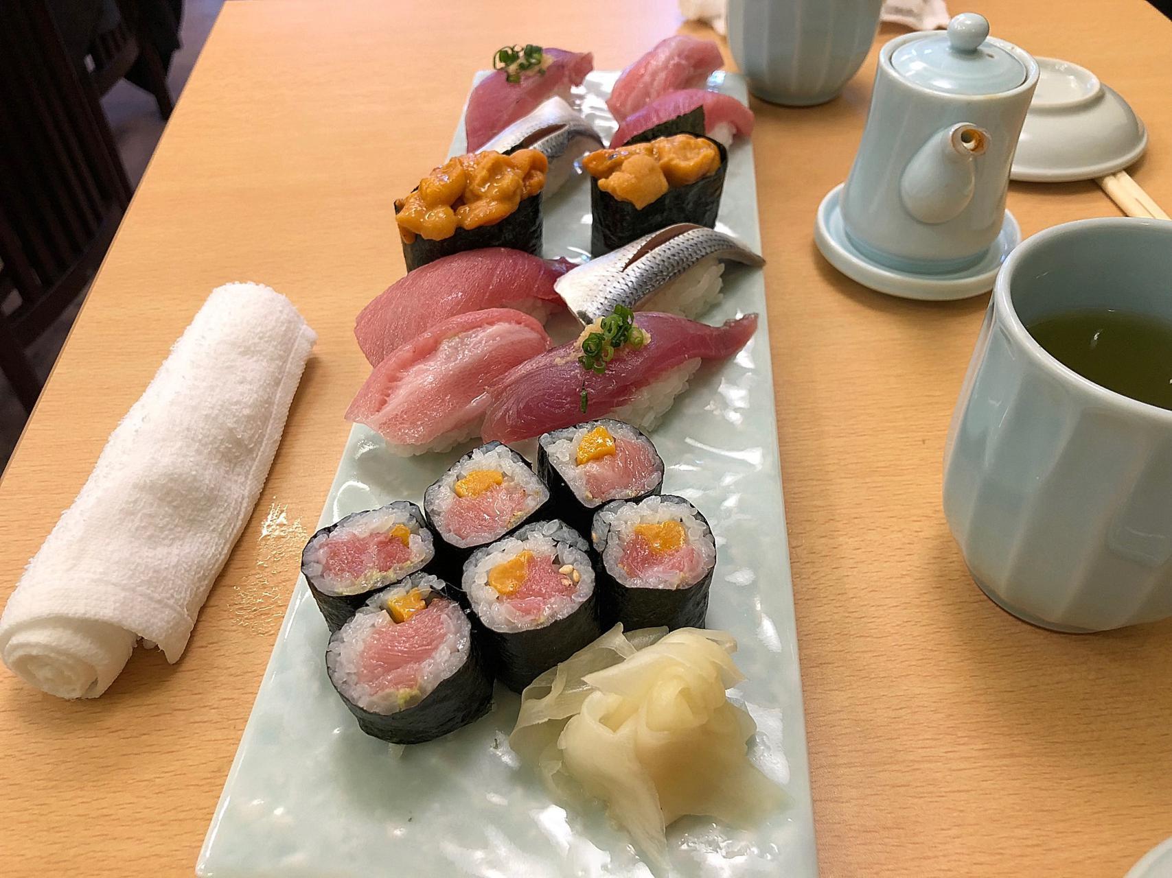 Tokyo, sushi, mercato del pesce