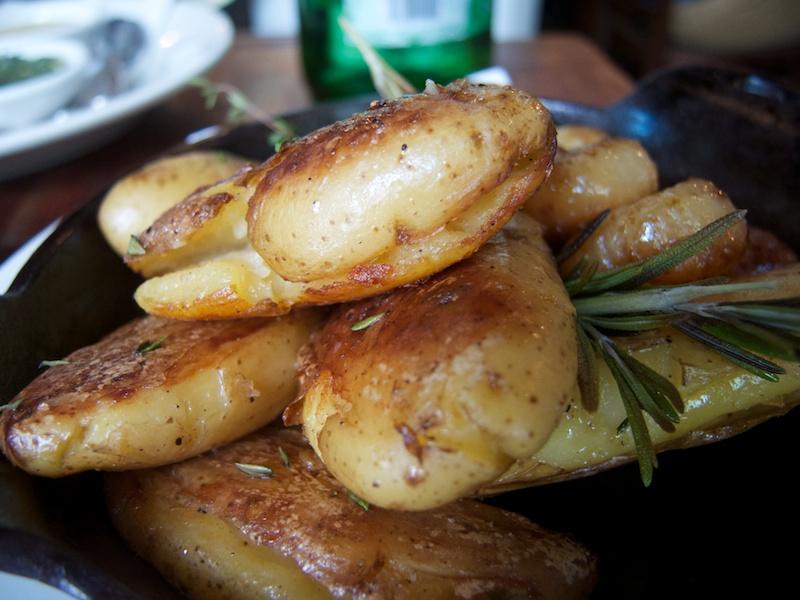 contorno, patate, L'Emporio, New York