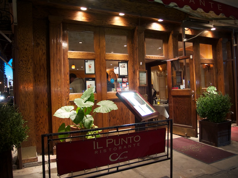 Il Punto, Chef Antonio Marmolia, New York