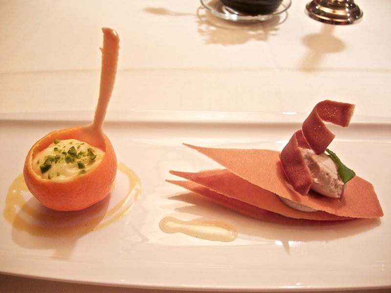 variazione di mandarino, Schöneck, Chef Karl Baumgartner, Falzes, Bolzano