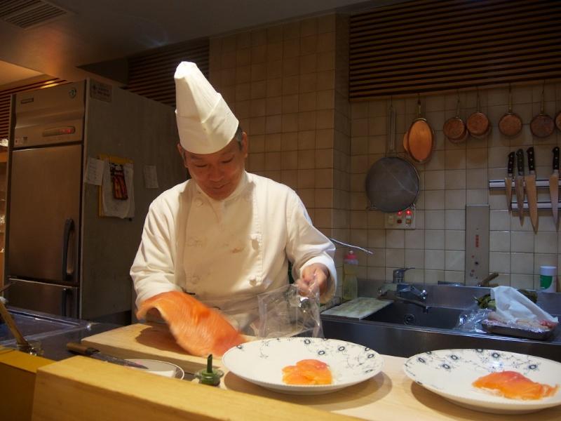 Shima, Chef Manabu Oshima, Tokyo