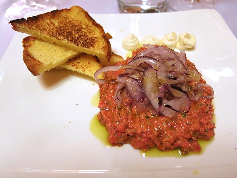 Tartare di chianina, Brilli Bistrot, Chef Ota e Migliosi, Assisi, Perugia