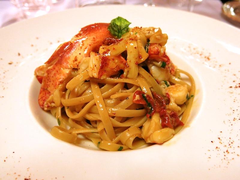 Trenette al sugo di crostacei, Brilli Bistrot, Chef Ota e Migliosi, Assisi, Perugia