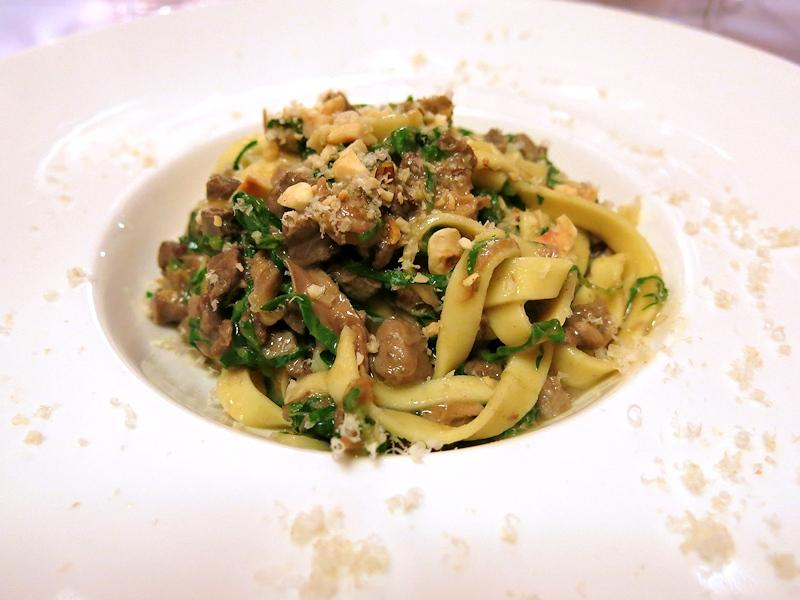 Umbricelli al ragù din piccione, Brilli Bistrot, Chef Ota e Migliosi, Assisi, Perugia