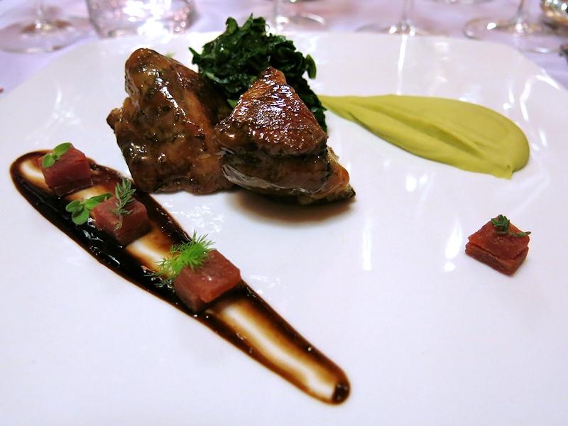 Capocollo di maiale laccato al miele, Brilli Bistrot, Chef Ota e Migliosi, Assisi, Perugia