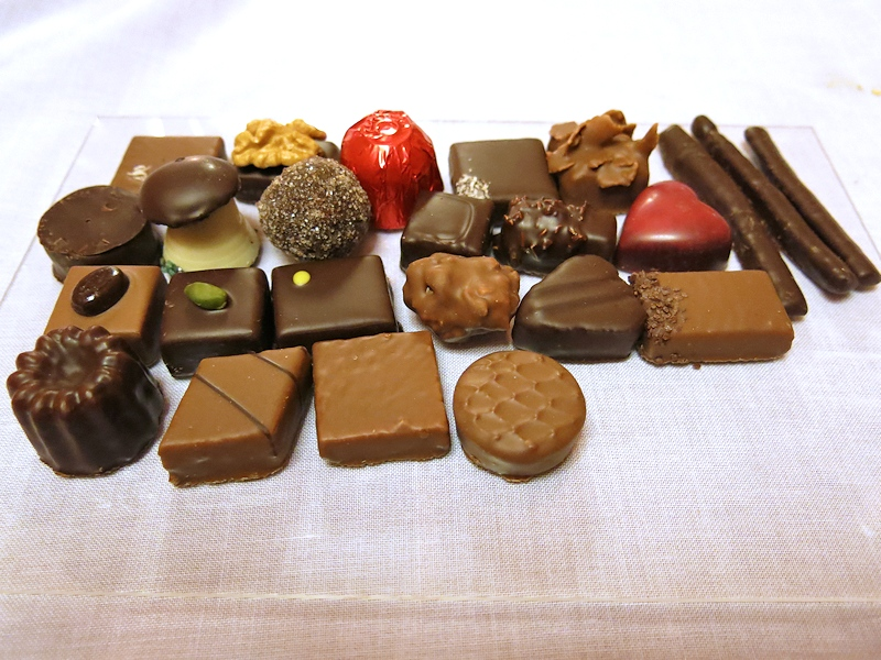 Cioccolatini, Brilli Bistrot, Chef Ota e Migliosi, Assisi, Perugia