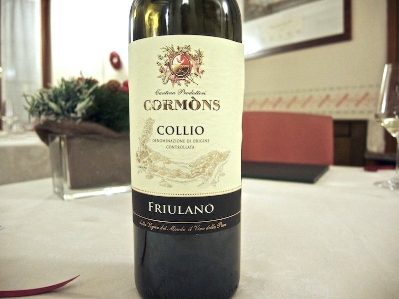 vino, Trattoria Al Giardinetto, Chef Zoppolatti, Cormòns