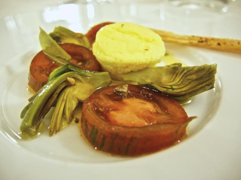 tortino di ricotta, Trattoria Al Giardinetto, Chef Zoppolatti, Cormòns