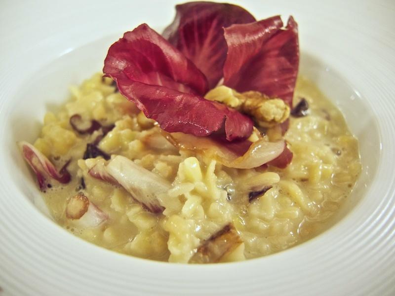 pasta grattata, rosa di gorizia, Trattoria Al Giardinetto, Chef Zoppolatti, Cormòns