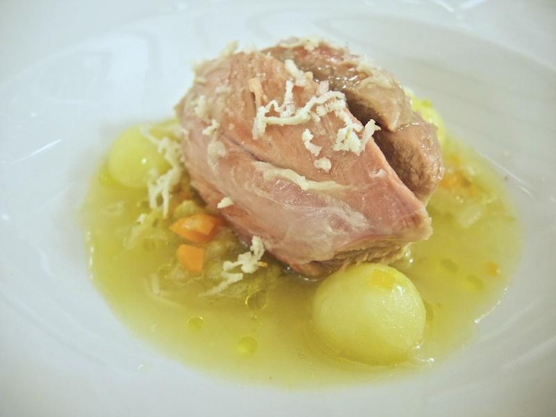 zuppa di scarola, Trattoria Al Giardinetto, Chef Zoppolatti, Cormòns