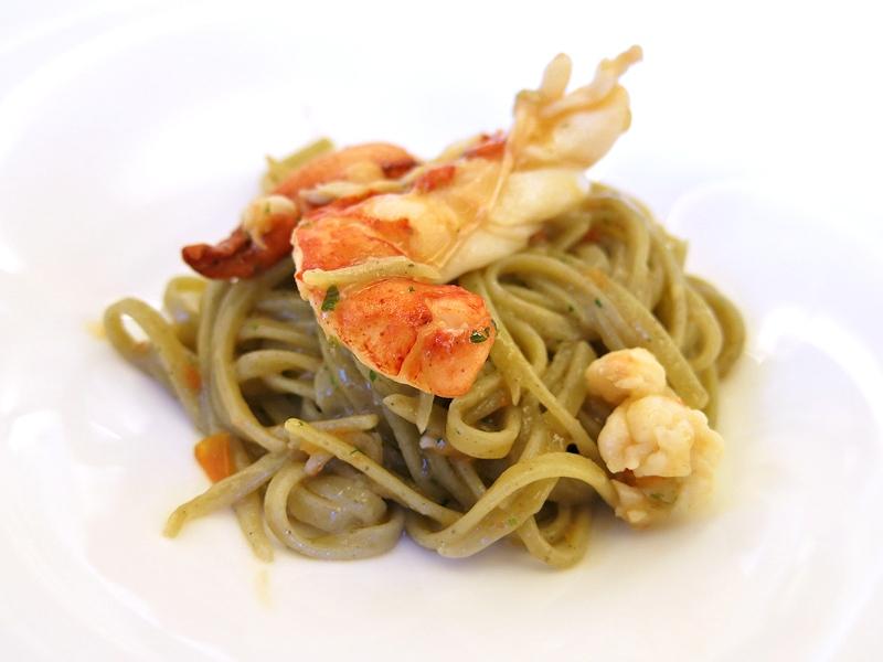 Linguine al basilico con crostacei, Lorenzo, Gioacchino Pontrelli, Forte dei Marmi