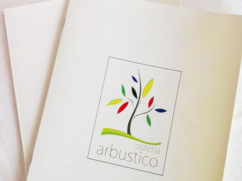 Carta menù, Osteria Arbustico, Chef Cristian Torsiello, Valva, Salerno