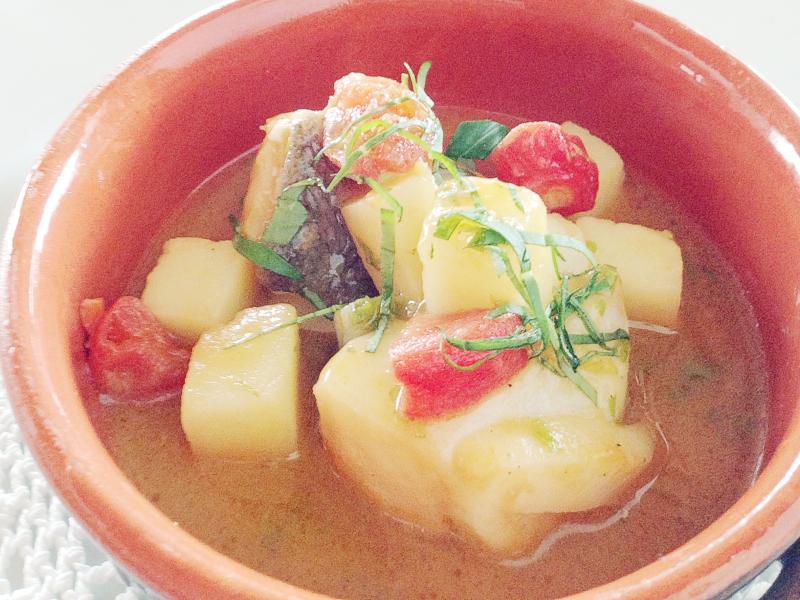 Baccalà e patate, Osteria Arbustico, Chef Cristian Torsiello, Valva, Salerno