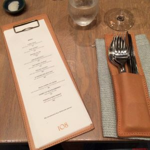 mise en plance,108 Restaurant, René Redzepi, Copenhagen