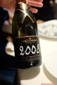 mandarin oriental, milano, ristorante seta, moet rose vitage 2008