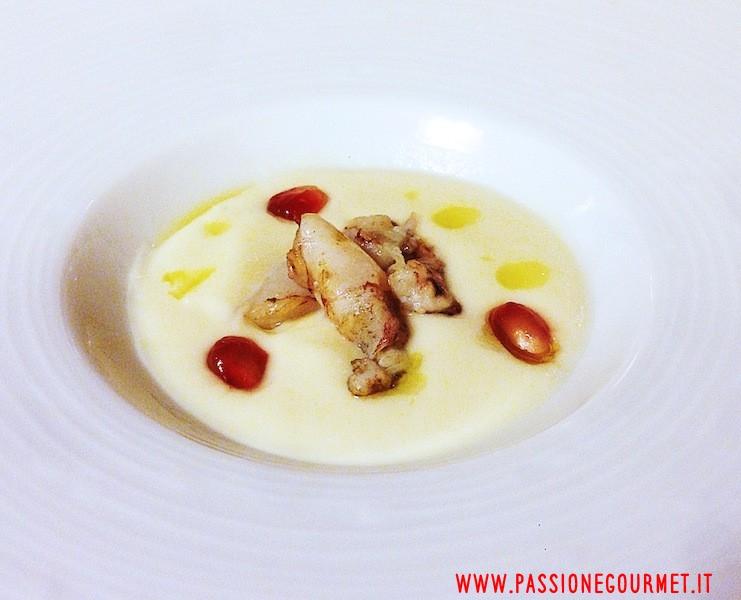 Crema di patate, Da Caino, Chef Valeria Piccini, Manciano , Grosseto