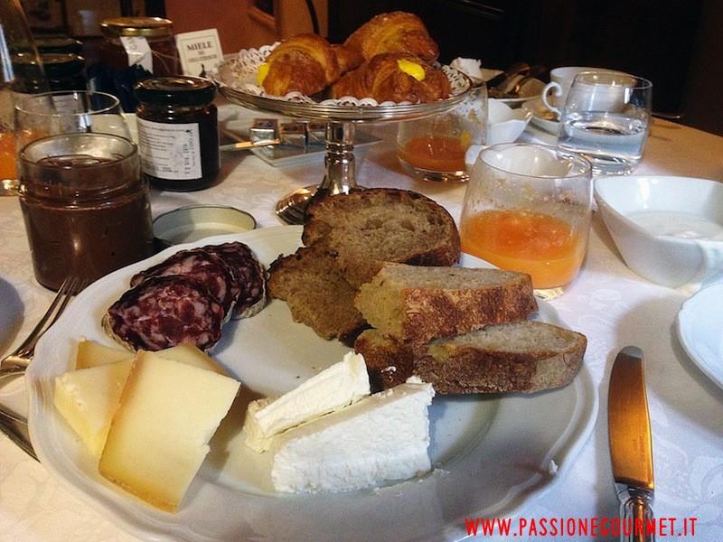 colazione con salame, Da Caino, Chef Valeria Piccini, Manciano, Grosseto