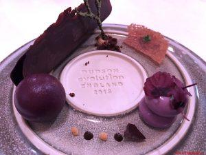 Bacche selvatiche, aglio nero e cioccolato fermentato, Dolomieu, Madonna di Campiglio