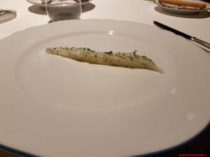 Seppia marinata, olio al rafano e foglie di limone, Riccardo Camanini, Lido84