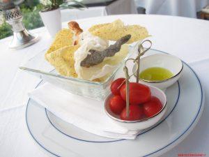 Chips olio e pomodorini, Mistral, Bellagio