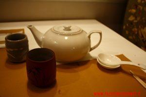 servizio del tè, Waraku, Chef Maurizio Di Stefano, Roma