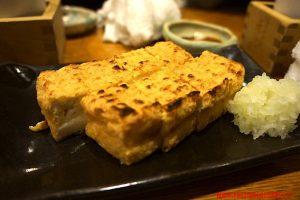 tofu, izakaya, akaoni, tokyo