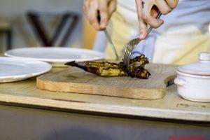 Porzionatura del piatto, Pellegrino Bros, Lecce