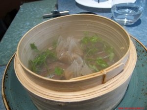 barcellona, disfrutar, dumpling di porcini